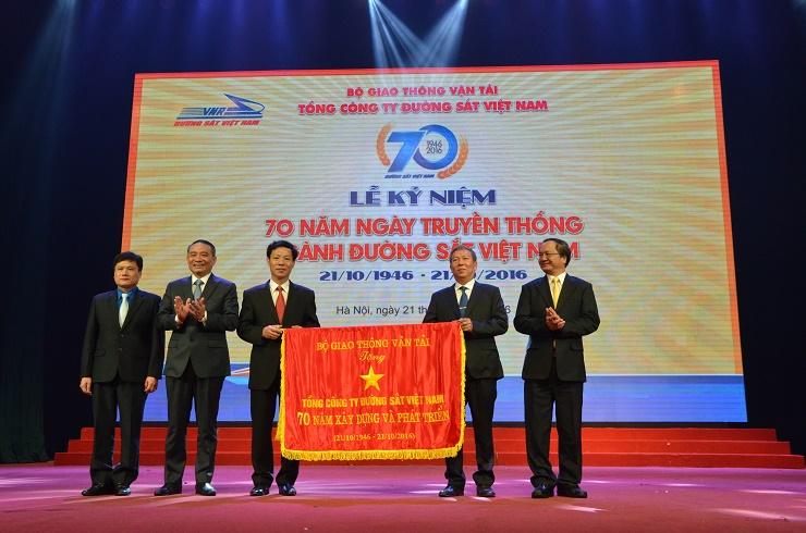 Tổng công ty ĐSVN kỷ niệm 70 năm Ngày truyền thống